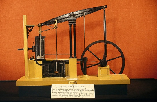 Nasmyth model of Watt engine.