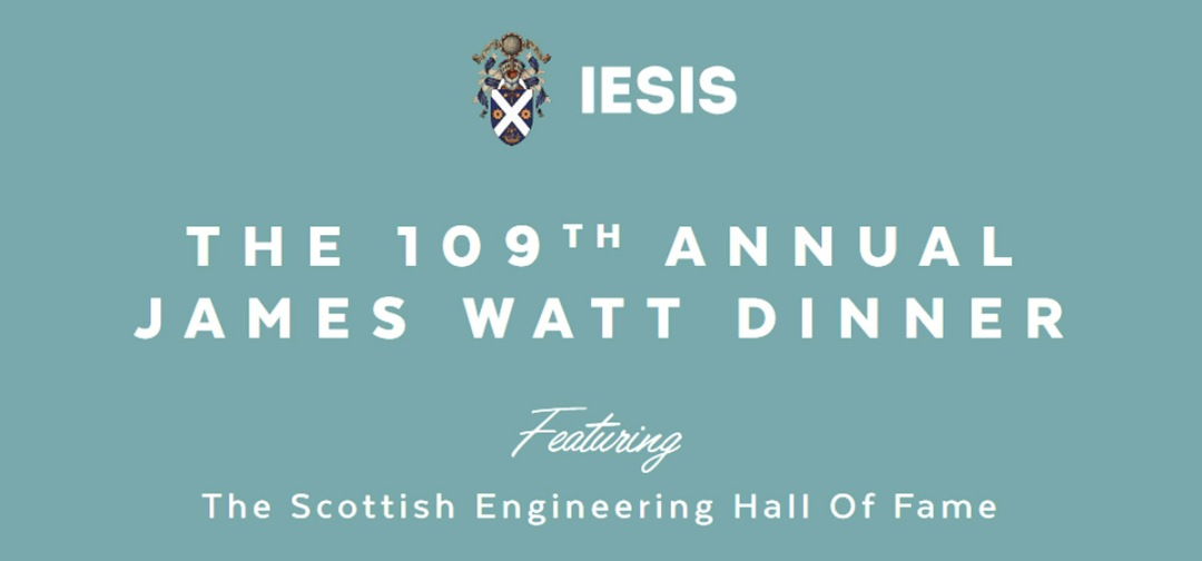 The 109th Annual James Watt Dinner