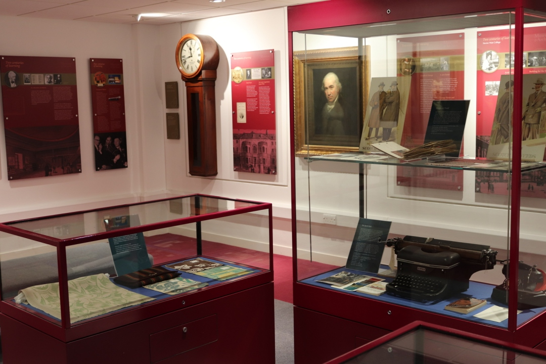 Part of the Museum at Heriot Watt's Edinburgh base.