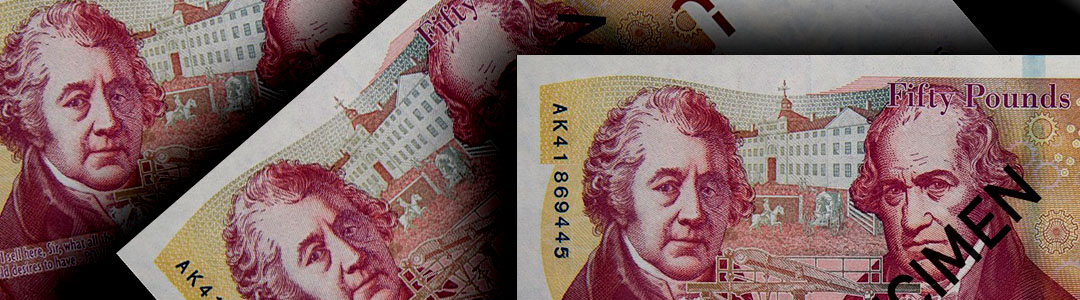Boulton and Watt on the £50 note