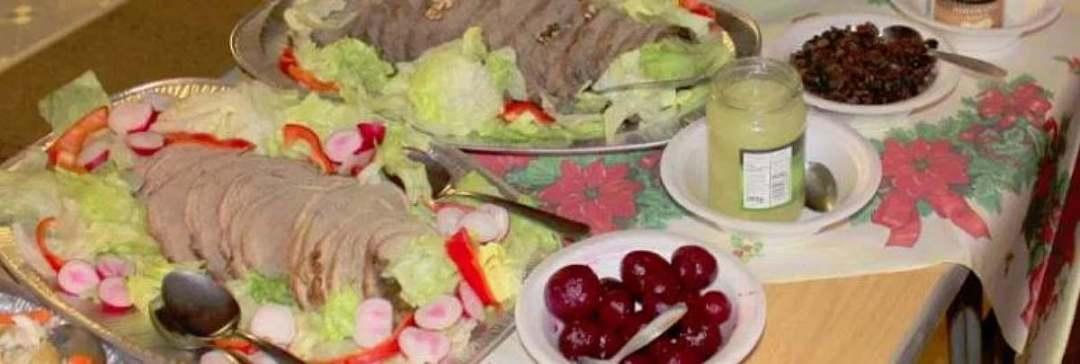 Food at a James Watt Supper