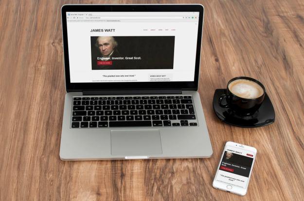 The new James Watt website