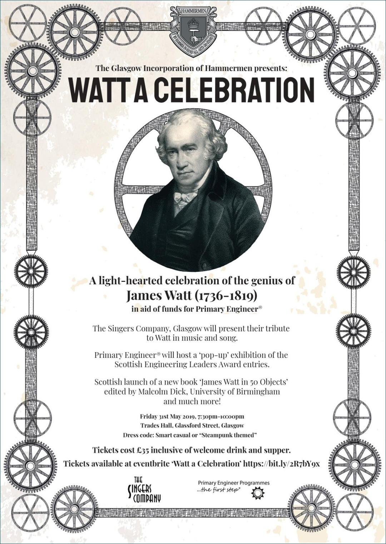 Watt A Celebration Flyer/Poster