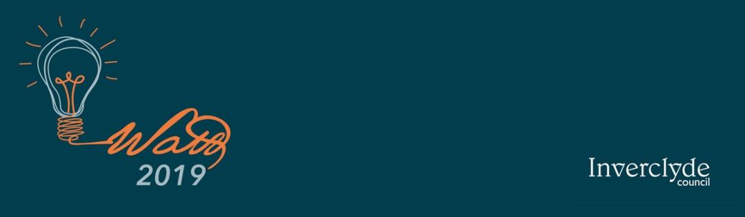 Watt 2019 logo / Inverclyde Council logo