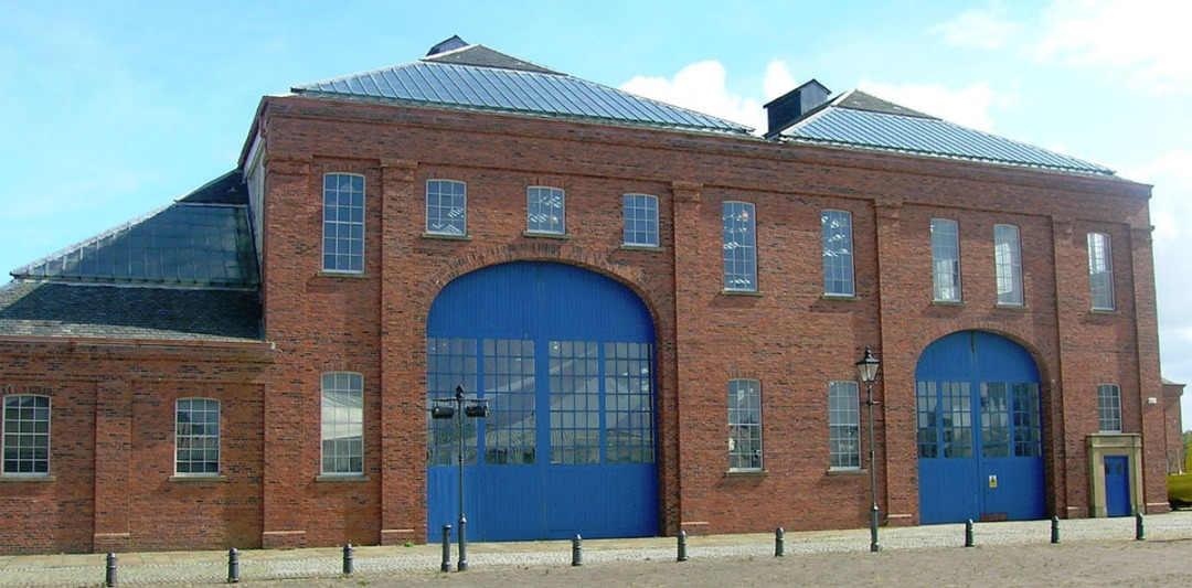 The Linthouse Engine building forms the main exhibition hall at the Scottish Maritime Museum's base in Irvine.