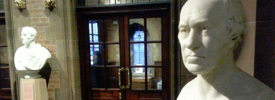 Bust of James Watt at Scottish National Portrait Gallery in Edinburgh.