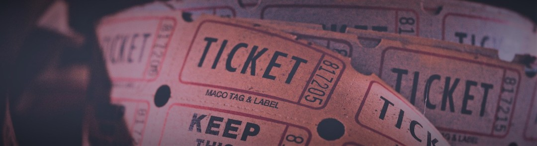 Picture of tickets. Image by igorovsyannykov on Pixabay