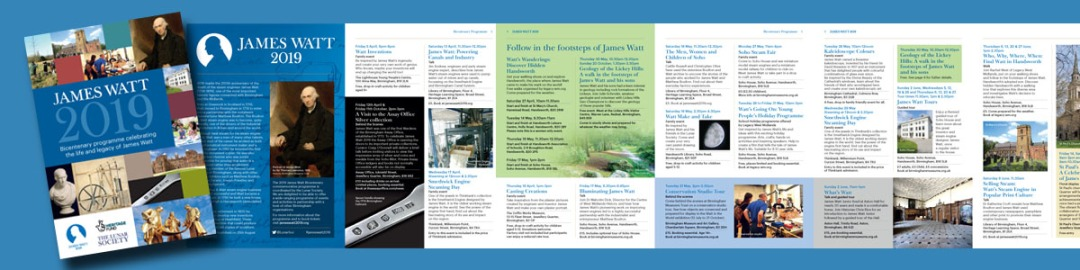 English James Watt 2019 brochure