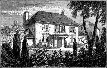"Drawing of Cusgarne House, from the ""Lives of Boulton and Watt""."