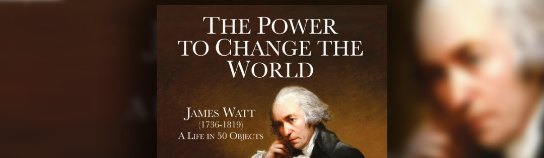 Cover of new book on James Watt