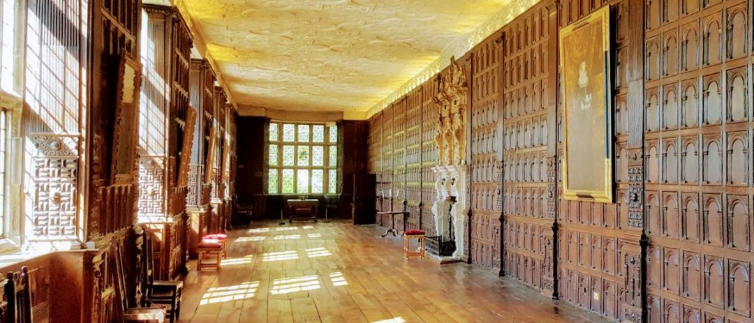 Interior of Aston Hall, Birmingham