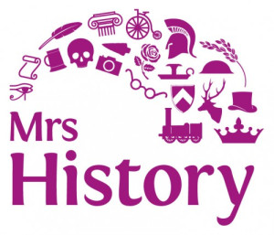 Logo for Mrs History.