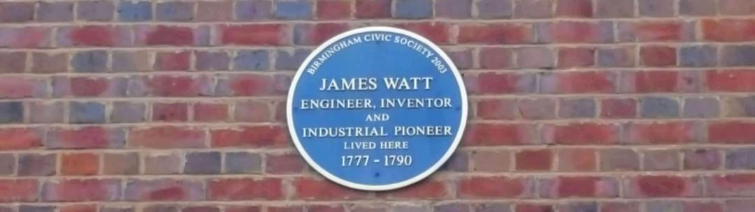 Plaque in the Jewellery Quarter of Birmingham